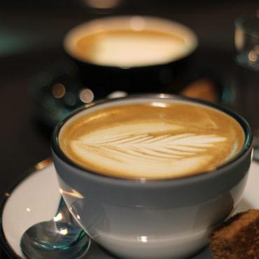 Cappuccino vom Pader café